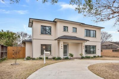 Single Family Home For Sale: 3630 Royal Lane