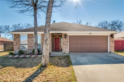 Azle Single Family Home Active Option Contract: 524 Logan Drive