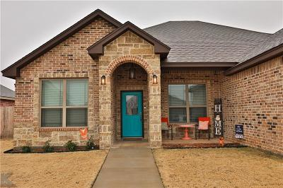 Abilene Single Family Home For Sale: 6642 Summerwood Trail