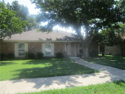 Wylie Single Family Home Active Option Contract: 210 Spence Drive