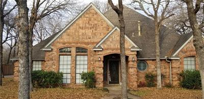 Keller Single Family Home Active Option Contract: 1327 Snow Mountain Circle