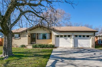 Grapevine Single Family Home Active Option Contract: 1310 Airline Drive