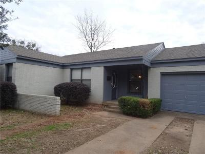 Irving Single Family Home For Sale: 1605 Plymouth Drive N