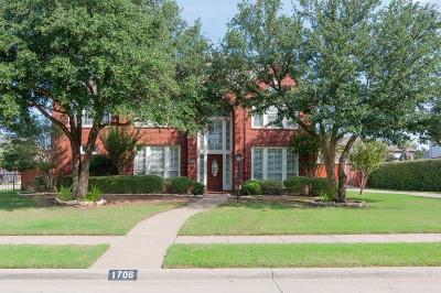 Southlake Single Family Home Active Contingent: 1706 Water Lily Drive