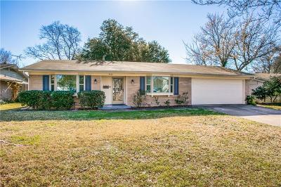 Farmers Branch Single Family Home Active Option Contract: 2832 Esterbrook Drive