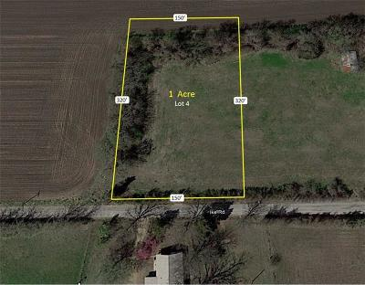 Waxahachie Residential Lots & Land For Sale: Lot 4 Ike Road