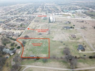 Residential Lots & Land For Sale: 855 N Preston Road