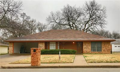 Weatherford Single Family Home For Sale: 609 W Spring Street