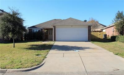 Terrell Single Family Home Active Option Contract: 159 Hamilton Drive