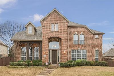 McKinney Single Family Home For Sale: 7813 Chapel View Drive
