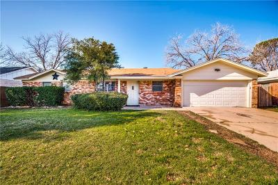 Euless Single Family Home Active Option Contract: 1210 Paula Lane