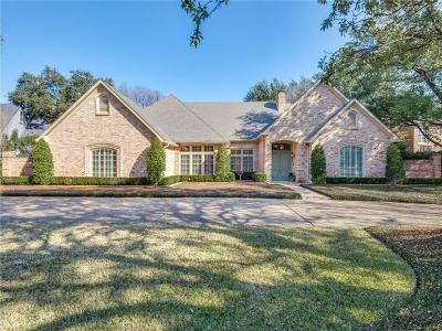 Dallas Single Family Home Active Option Contract: 5511 Bent Tree Drive
