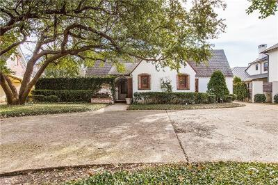 University Park TX Single Family Home For Sale: $1,499,000
