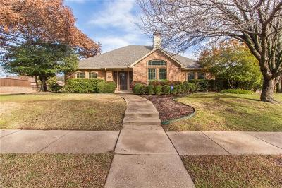 Plano Single Family Home Active Option Contract: 1925 Liverpool Drive