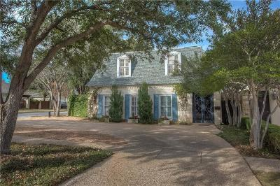 Dallas, Fort Worth Single Family Home For Sale: 4836 Dexter Avenue