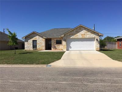 Brownwood Single Family Home Active Option Contract: 2203 8th Street