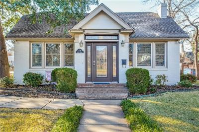 Fort Worth Single Family Home For Sale: 2716 Greene Avenue
