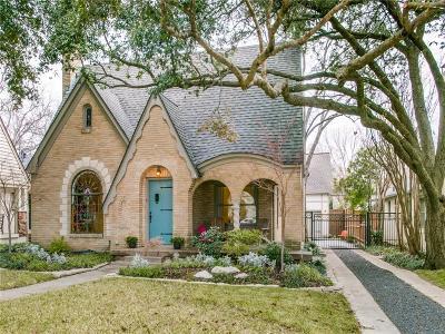 Dallas, Fort Worth Single Family Home For Sale: 6431 Velasco Avenue