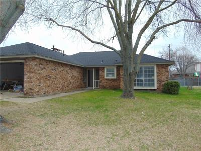 Waxahachie Single Family Home Active Contingent: 105 Modene Avenue