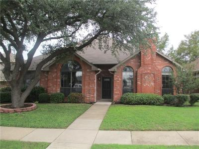 Carrollton Single Family Home Active Option Contract: 3721 Cromwell Drive