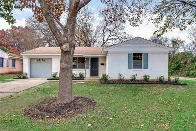 Dallas Single Family Home For Sale: 3831 Black Oak Drive