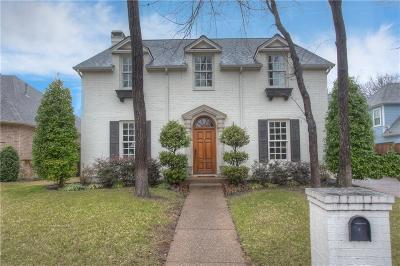 Fort Worth Single Family Home Active Option Contract: 2836 River Brook Court