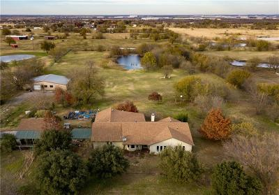 Haslet Single Family Home Active Option Contract: 205 Bayne Road