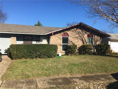 Dallas TX Single Family Home For Sale: $130,000