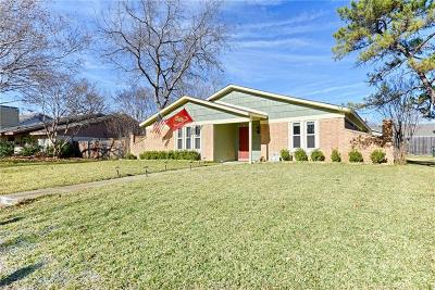 Plano Single Family Home Active Contingent: 2809 Countess Drive
