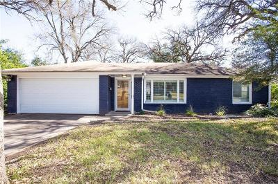 Fort Worth Single Family Home For Sale: 1960 Bluebird Avenue