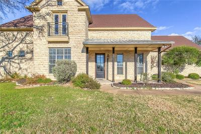 Granbury Single Family Home Active Option Contract: 1821 Bentwater Parkway