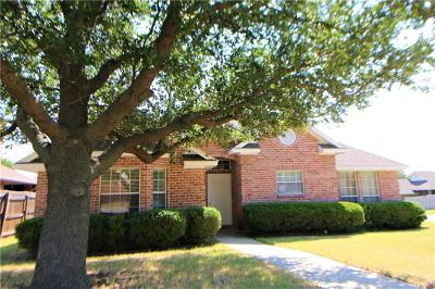 Sherman Single Family Home For Sale: 1701 N Grant Drive