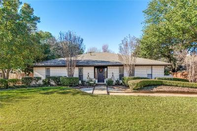 Coppell Single Family Home Active Option Contract: 521 Arbor Brook Lane