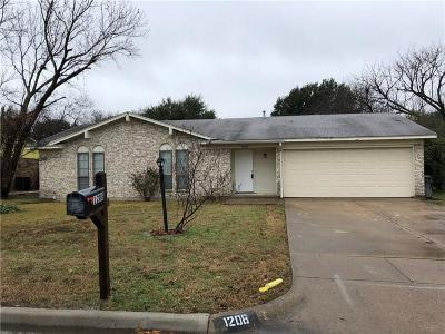 Benbrook Single Family Home For Sale: 1208 Estes Street