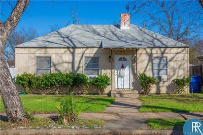 Brownwood Single Family Home Active Option Contract: 2404 Durham