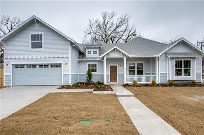Mckinney Single Family Home For Sale: 1215 Coleman Street