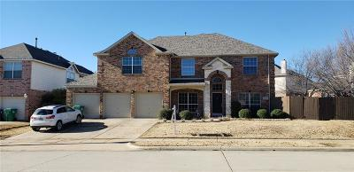 Denton Single Family Home For Sale: 6812 Hayling Way