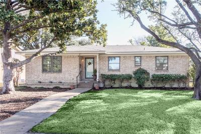 Richardson Single Family Home For Sale: 1130 N Cottonwood Drive