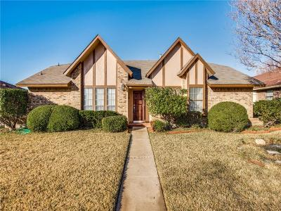Carrollton Single Family Home Active Option Contract: 2303 Incline Drive