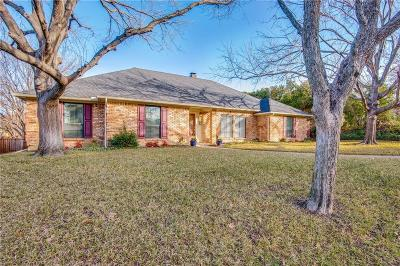 Carrollton Single Family Home Active Option Contract: 2717 Timberleaf Drive