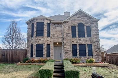 Mckinney Single Family Home Active Option Contract: 603 High Crest