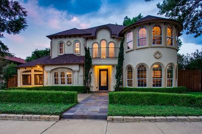 Dallas TX Single Family Home Active Option Contract: $975,000