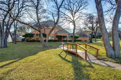 Burleson Single Family Home Active Option Contract: 101 Cliffside Drive S