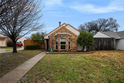 Coppell Single Family Home Active Option Contract: 1004 Mapleleaf Lane