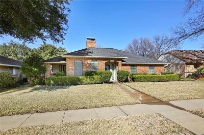 Garland Single Family Home Active Option Contract: 1103 Lupine Drive