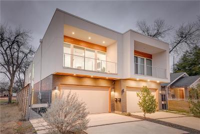 Half Duplex For Sale: 4505 Rusk Avenue