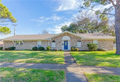 Irving Single Family Home Active Option Contract: 1700 Hillcrest Drive