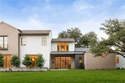 Preston Hollow, Preston Hollow Rev Single Family Home For Sale: 6119 Joyce Way