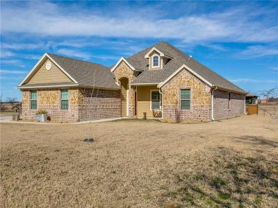 Springtown Single Family Home Active Contingent: 1460 Jay Bird Road