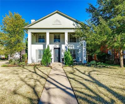 University Park TX Single Family Home For Sale: $1,445,000